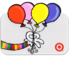 Luftballon-Karte mit Transparenz