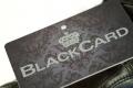 Mitgliedskarte mit Hotstamp Black Card