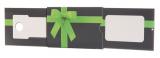 POS-Geschenkkarten-Pack offen mit Pull und Pop
