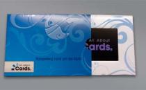 Traegerkarte mit Huelle (aufgezogen)